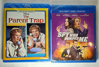 The Parent Trap (1961, Disney) + The Spy Who Dumped Me (Blu-ray+DVD, No Digital)