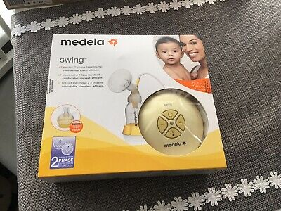 Medela Swing Electric breast pump Excellent Condition Some Parts Never Used