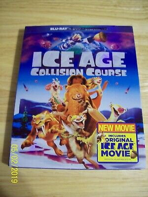 Ice Age: Collision Course...blu Ray Only...with Case And Slipcover..pg...2016