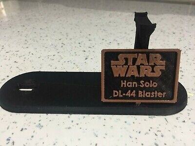 Stand For Han Solo Blaster - Star Wars - Prop - Cosplay - Dl-44 - Stand Only