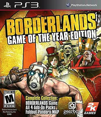 Borderlands: Game of the Year Edition - Sony PlayStation 3 PS3 Game