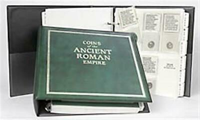Littleton Album Coins of the Ancient Roman Empire New 21 Clear Pages + Dividers
