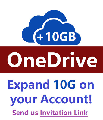 Onedrive 10GB Expansion on Your Own Account Region Free Fast Delivery