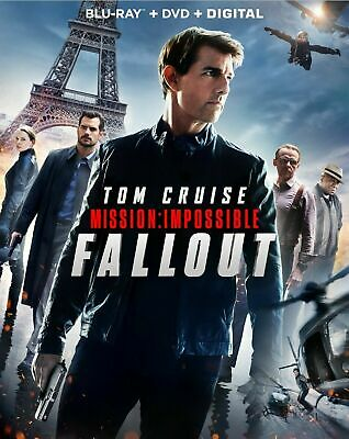 Mission: Impossible Fallout - Blu-ray + DVD + Digital (2018) BRAND NEW