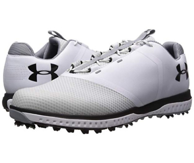 6991491f386 New Under Armour UA Fade RST Golf Shoes 3000399-100 Men's Size 12.5 MSRP  $120