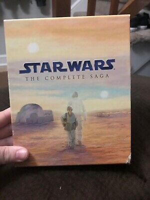 STAR WARS The Complete Saga 2011 9-Disc Blu-Ray Set