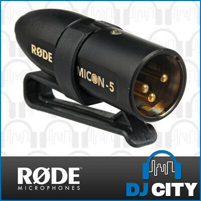 RODE MiCon5 Adapter from Headset & Lapel Microphones to XLR Male