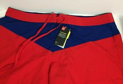 957818e16d Under Armour UA Storm Baywatch Boardshorts Swim Trunks Mens 46 Red/Blue NEW!