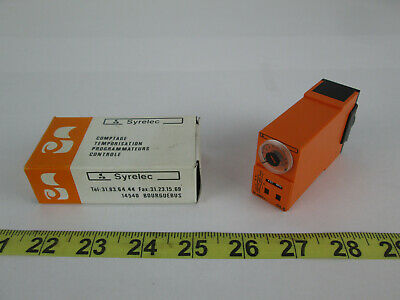 New Syrelec Counting Timing Programmator Control OLS Timer Relay