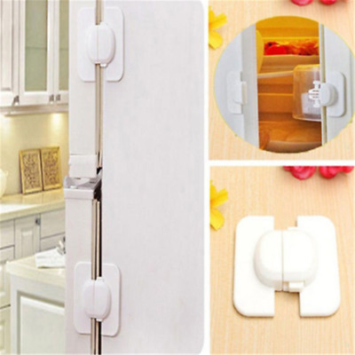 Kids Child Safety Door Lock Proof Cupboard Fridge Cabinet Prevent Clamping New