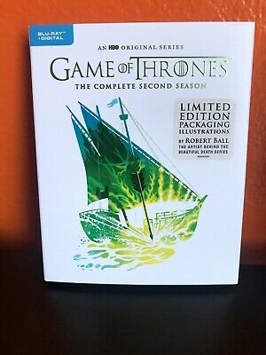 Game of Thrones: The Complete Second Season Limited Edition Blu-Ray + Digital