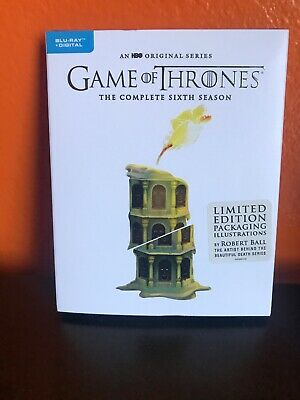 Game of Thrones: The Complete Sixth Season Limited Edition Blu-Ray + Digital