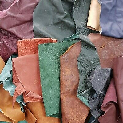 Mixed Leather Scraps  1 kg