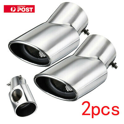 Stainless Steel Exhaust Muffler Tip Tail Pipe For Land Range Rover Sport 02-10