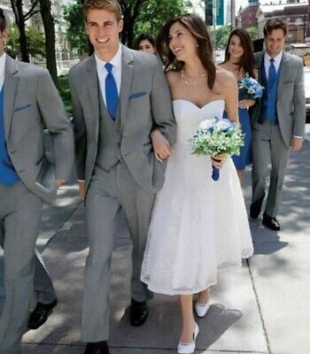 Men's Custom Wedding Suit Groom Tuxedos Business Suit Blazers For Prom Party