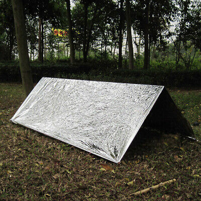 1PC Outdoor Survival Emergency Tent Blanket Sleep Bag Hiking Camping Shelter New