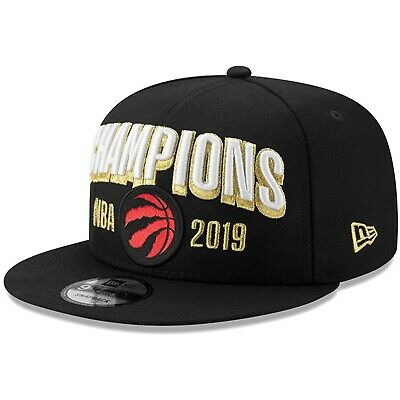 Toronto Raptors New Era 2019 NBA FINALS CHAMPIONS Locker Room Snapback Hat