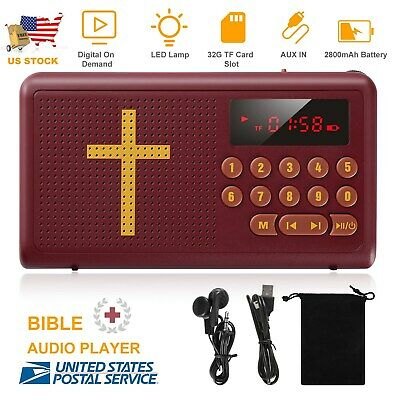 AUDIO BIBLE PLAYER King James Version Electronic Bible with