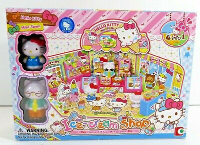 Hello Kitty Sanrio Playsets Strawberry Ice Cream Wagon Gingerbread