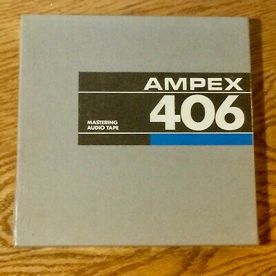 Ampex 406 Professional Recording Audio Tape - New Still Sealed!