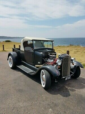 1928 Ford A Model Pickup -- Hot Rod Convertible