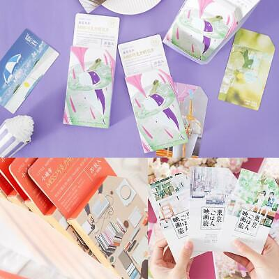 20Pcs/SET Retro Style Collection Bookmark Paper creative hand-painted card