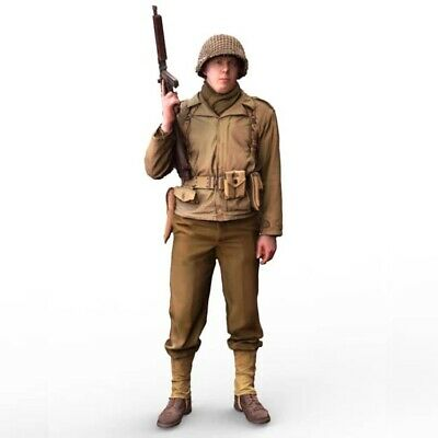 1/16 Figure of American Soldier Ranger (KIT) for Taigen, Heng Long Sherman tank