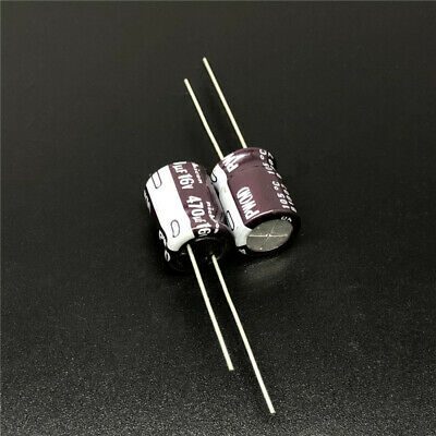 10pcs/100pcs 16V 470UF 16V PW 10X13mm Nichicon Low Impedance Long Life Capacitor