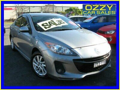 2011 Mazda 3 BL 11 Upgrade Maxx Sport Grey Automatic 5sp A Sedan