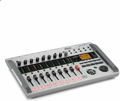ZOOM Multi-track Recorder 8track Simultaneous Digital Interface Controller R24