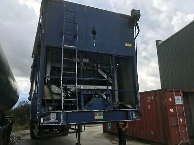 Box Ejector Trailer,2006 Good Order Ready To Work In Test Export