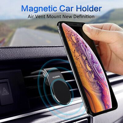 L-shape Magnetic Car Air Vent Mount Cradle Holder Stand for Smart Cell Phone GPS