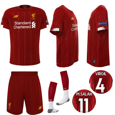 0d4331923 19/20 Soccer Suits Liverpool Jerseys Football Kits Shorts Socks For Kids  Adults