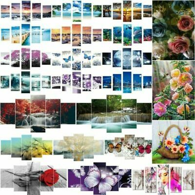 DIY 5D Full Drill Diamond Painting Embroidery Cross Crafts Stitch Kit Home Decor