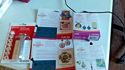 Assorted clay modeling items x 5