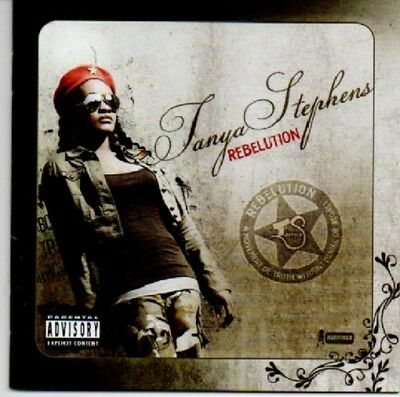 Rebelution Tanya Stephens Audio CD pre owned like new   FREE POST