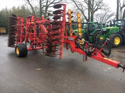 2008 Vaderstad Top Down Cultivator 5 Meter With 2010 Bio Drill Rape Seed