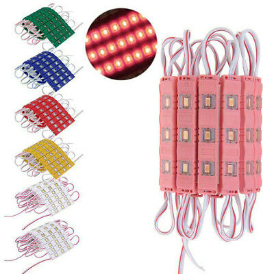 20~100Pcs SMD 5630 3LED Module Lights Lamp Injection ABS for Advertisement Signs