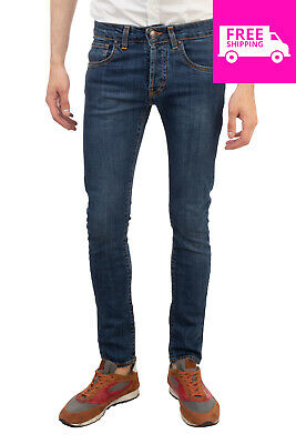 568e59e82d6 RRP €125 LIU JO JEANS Blue Jeans Size 29 Stretch Faded Effect Made in Italy