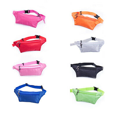 Bum Bag Fanny Pack Money Wallet Travel Waist Belts Sport Running Hiking Pouch