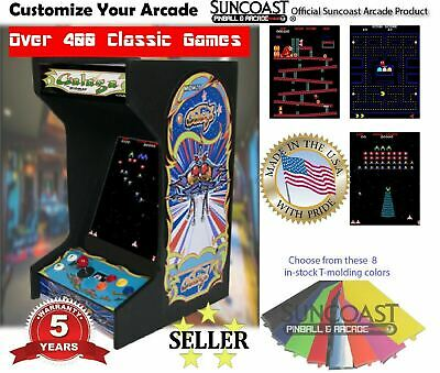 Retro Galaga Upright Bartop/Tabletop Arcade Machine With 412 Classic Games