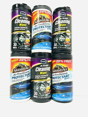 Armor All Auto Bright Cleaning Wipes HIDDEN DIVERSION SAFE HOME STASH CAN,usa