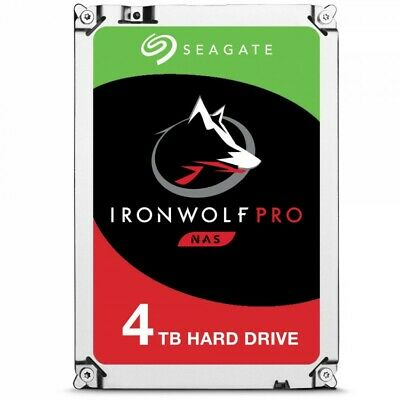 Seagate 4TB IronWolf PRO NAS 7200RPM Internal Hard Drive (ST4000NE0025)