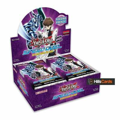 YuGiOh Speed Duel Attack from the Deep Sealed Booster Box: 36 Packs: 1st Edition