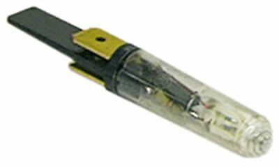 Indicator Lamp 230V Clear Connection Male Faston 6.3Mm D 8Mm