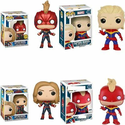 Funko POP Movie Captain Marvel Vinyl Doll Boy Girl Friend Birthday Action Figure