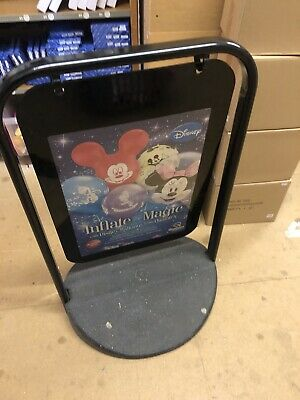 A1 Pavement Poster Stand Sign A-Board Snap Frame Shop Display