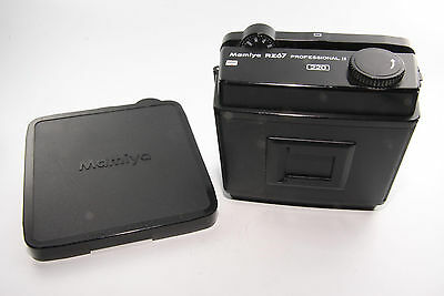 MAMIYA RZ67 RPOFESSIONAL II 220 FILM BACK w/cover and so on [Very good] From JP