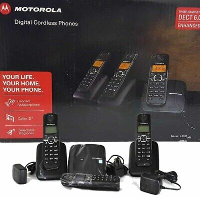 Motorola Cordless phone L603m with 3 Handset BRAND NEW!!