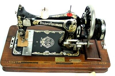Antique Frister & Rossmann Hand Crank Sewing Machine [5330]